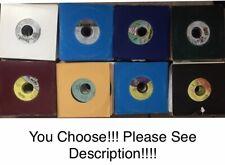 Lot of Reggae 45 Vinyl Records Singles Dancehall Various Artist(see Description)