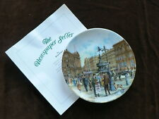 Davenport Cries of London Collector Plate, The Newspaper Seller