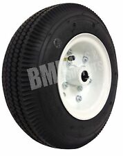 "4.10/3.50 Tire with Split 5"" Rim (1"" Bore) - Rear Go Kart Carts Wheel Parts"