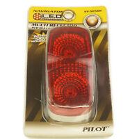 Pilot Automotive NV-5055R 4 LED Sealed Marker Lamp