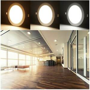 Panneau LED Lampe Intensité Variable Plafonnier à Encastrer Encastré Ultraslim
