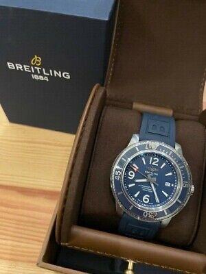 Breitling Superocean 44 Mens Automatic watch A17367D81C1S2 Blue Dial