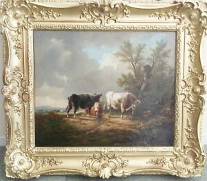 Thomas Sidney Cooper oil - a superb example