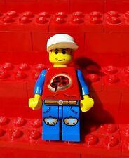 1x Genuine Lego Extreme Stunts Pepper Roni Minifigure Pizza Guy