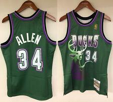 a52f4e288270 Ray Allen Men Milwaukee Bucks NBA Fan Apparel   Souvenirs for sale ...