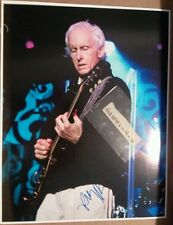 Robby Krieger Signed The Doors Autograph COA 11x14 A