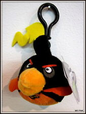 SPACE BOMB BIRD ANGRY BIRDS SPACE BAG CLIPS  PLUSH KEYCHAIN PELUCHE KEYRING 8 CM