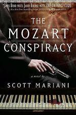 MOZART CONSPIRACY, THE - Scott Mariani (Hardback, 2011, Free Postage)