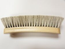"Large Professional Boot/Shoe Shine/Buff Brush - 100% Horsehair 8"" Long - BLONDE"