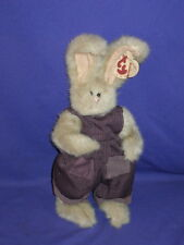 Vintage Jeremy Bunny Rabbit from The Ty Attic Collection Beanbag Plush 1993 11in