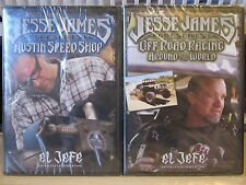 Lot of 2 NEW Jesse James Austin Speed Shop DVDs: Off-Road,1st of Series