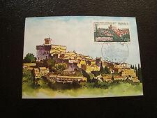 MONACO - carte 1er jour 6/9/1971 (chateau grimaldi) (cy20)