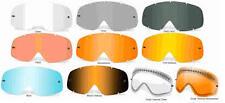 Hybrid~ Motocross Goggle LENS ~ Blue Tint ~ For Roll Offs