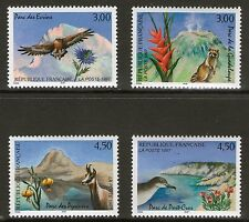 SERIE TIMBRES 3054-3057 NEUFS XX LUXE - PARCS NATURELS NATIONAUX - ANIMAUX