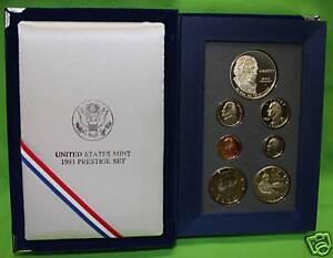 1990 Prestige Proof Set in Original US Mint Packaging
