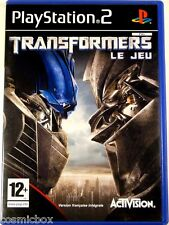 TRANSFORMERS Le JEU video pour console PlayStation 2 Sony PS2 complet & testé