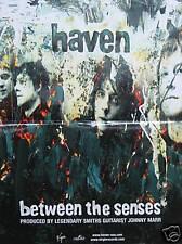 HAVEN POSTER, BETWEEN THE SENSES (H4)