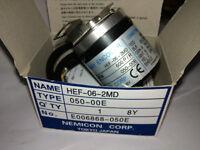Half empty axis encoder rotary encoder HEF-005-2MHC