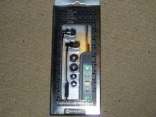 Exspect iPhone 4 4 s Stéréo des écouteurs écouteurs + microphone Noir NEUF! dans l'oreille