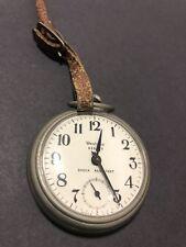 Westclox Scotty Shock Resistant Vintage Mechanical Wind Up Pocket Watch
