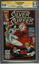 * Silver SURFER #16 CGC 9.8 SS Signed Ron Lim art  (1179552023) *