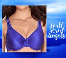 WACOAL 855192  ~ ROYAL BLUE   ~  Basic Beauty Full Coverage Underwire Bra  38C