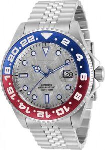 Invicta Pro Diver Pepsi Red Blue Bezel Meteorite Dial Automatic Watch 31486