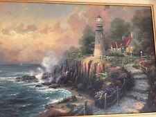 Thomas Kinkade Light Of Peace on Canvas Painting Gallery Proof Edition