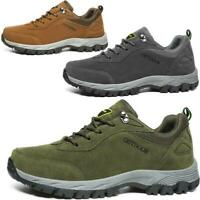 Mens Breathable Hiking Walking Sports Shoes Trail Trekking Outdoor Sneakers size