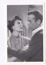 La COMTESSE AUX PIEDS NUS carte postale n° 1954 Humphrey BOGART Ava GARDNER
