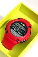 Genuine Breo Zone Watch- Alarm, Chronograph, Backlight- Unisex , RED-