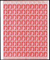 Germany 1940's Third Reich Adolf Hitler 12Pf cpl.sheet MNH cj21