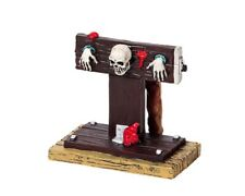 "LEMAX  Spooky Town 92611 ""IN THE STOCKS"" Halloween Neu"