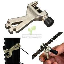 Bicycle Mountain Bike Cycling Steel Chain Breaker Repair Tool with Spoke Wrench