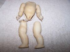 """Antique Reproduction  7"""" Baby Body for (S)  Bisque Doll"""