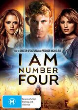 I Am Number Four * NEW DVD * Timothy Olyphant Dianna Agron Teresa Palmer
