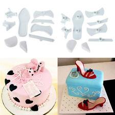 HOT DIY High-Heeled Shoes Cake Cutter Mold Mould Sugar Craft Fondant Baking Tool