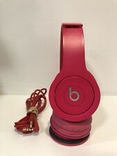 Beats by Dr. Dre Solo HD Wired Headband Headphones - Pink - Works Great