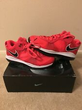 Nike Lebron 8 V/2 Low Solar Red DS sz 8