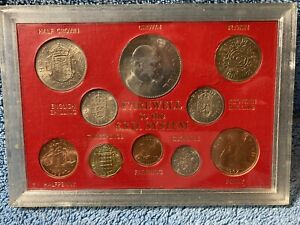 Great Britain Farewell to the £sd System Pre-Decimal Old Money 10 Coin Set (a)