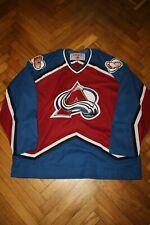 Vintage Colorado Avalanche 2XL CCM NHL Hockey Jersey XXL