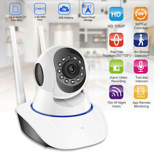 1080P WiFi IP Camera Home Security Baby Monitor Clever Dog Night Vision CCTV Cam