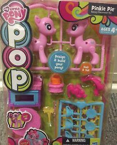 My Little Pony Pop Pinkie Pie Bakery Decorator Kit Design & Build Your Pony