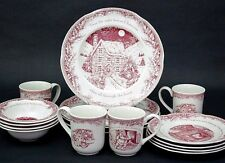 16 pc NOBLE EXCELLENCE Twas the Night Before Christmas China Service For 4