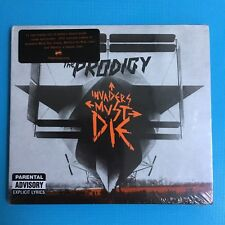 THE PRODIGY - Invaders Must Die - RARE Digipack CD + DVD 2009 *NEW SEALED*