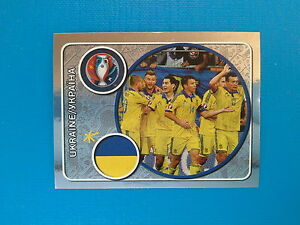 Panini Euro 2016 Swiss Star Edition Sticker n.235 Team Photo Ukraine