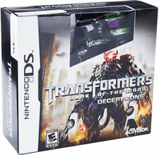Transformers: Dark of the Moon Decepticons with Toy NDS New Nintendo DS