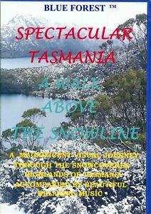 RELAXATION DVD -- SPECTACULAR TASMANIA . A WALK ABOVE THE SNOWLINE.