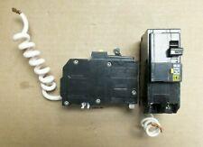 Square D Qo260gfi 2 Pole 60 Amp 240v Ground Fault Yellow Circuit Breaker Ak
