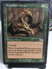 Argothian Wurm new MTG Urza's Saga Magic Nice Card M-NM Magic The Gathering.
